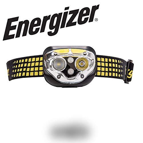 Energizer LED Headlamp, Vision Ultra Head Lamp Flashlight with 6 Modes and HD Optics
