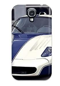Tpu ZippyDoritEduard Shockproof Scratcheproof Maserati Mc12 29 Hard Case Cover For Galaxy S4