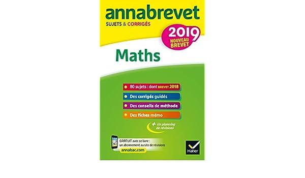 Annales du brevet Annabrevet 2019 Maths 3e : 90 sujets corrigés (French Edition) eBook: Bernard Demeillers, Emmanuelle Michaud: Amazon.es: Tienda Kindle