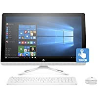 "HP 24-g, Intel Pentium Quad-Core, 2TB HDD, 23.8"" Full HD Touchscreen All-in-One (Certified Refurbished)"