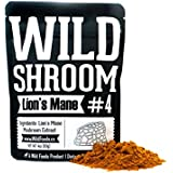 Lion's Mane Mushroom Extract 10:1 Superfood Powder by Wild Foods | Fruiting Bodies Only | Adaptogenic Nootropic Herb for Focus, Memory and Health (2 Ounce)