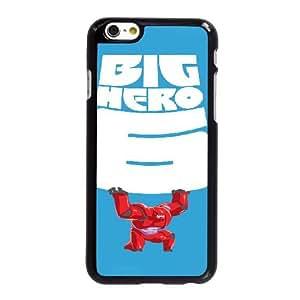 Q6I75 Gran Héroe M1Q6WY funda iPhone 6 Plus 5.5 pulgadas del teléfono celular Funda Cubierta Negro AE4XBT2TB