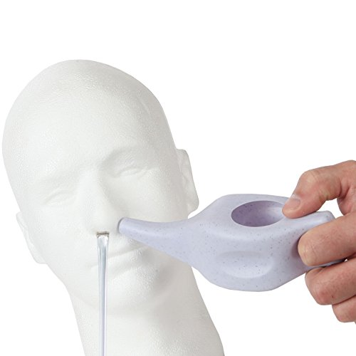 (Trenton Gifts Neti Pot | Nasal Cleansing Pot for Cold and Allergy Relief)