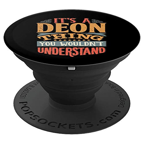Deon Name PopSockets Grip and Stand for Phones and Tablets