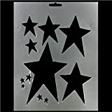 Primitive Star Stencil