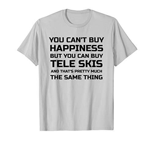 ba6cfca0655 Telemark Ski Tele Skiing Gift T Shirt
