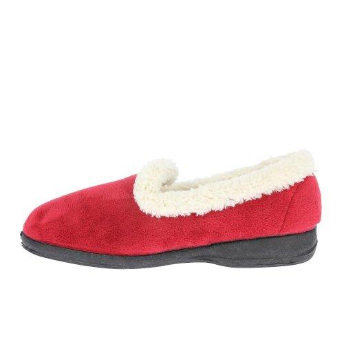 Silentnight , Chaussons pour femme - Rouge - rouge, 40