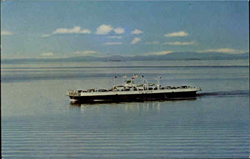 M. V. Valcour Boats Ships Original Vintage Postcard from CardCow Vintage Postcards
