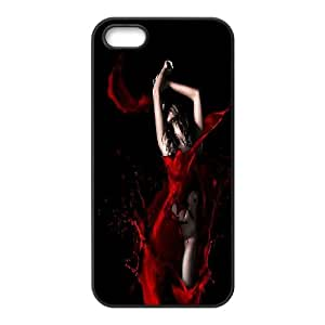Wholesale Cheap Phone Case For Apple Iphone 5 5S Cases -Sexy Red Lips Pattern-LingYan Store Case 3