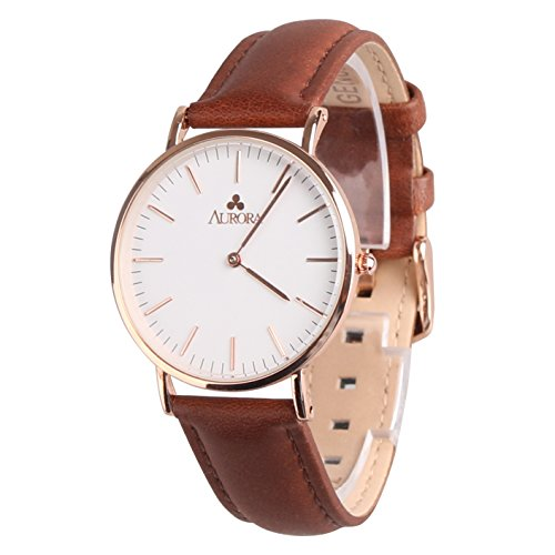 aurora-womens-metal-retro-casual-round-dial-quartz-analog-wrist-watch-with-brown-leather-band-rose-g