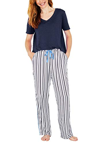 (Splendid Ladies' 2-Piece Lounge Set (Dark Blue, S))