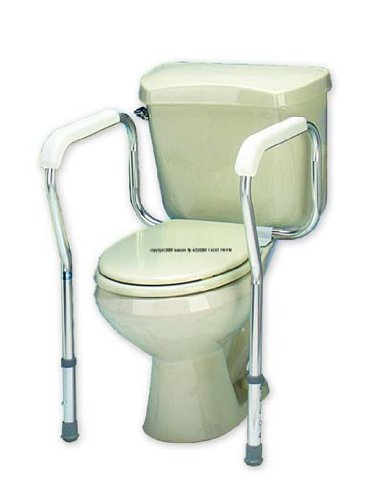 carex health brands carex toilet safety frame