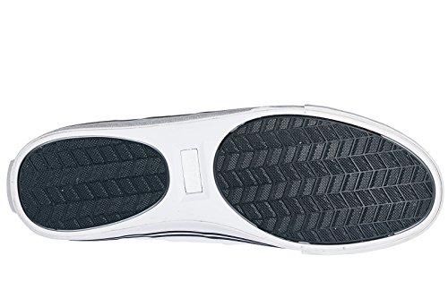 Polo Ralph Lauren Zapatos Zapatillas de Deporte Hombres EN Piel Nuevo Hanford Bl