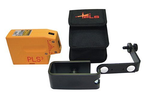 PLS Laser PLS-60523 PLS3 Laser Level Tool, Yellow by Pacific Laser Systems