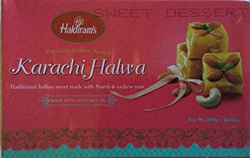 - Special Raksha Bandhan Gift Pack - 1) Designer Rakhi, and 2) Haldiram Classic Indian Karachi Halwa-250g.