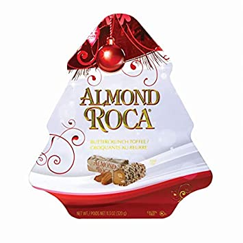 11.3 oz ALMOND ROCA BUTTERCRUNCH Tree Tin
