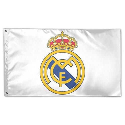 (VCU Real Madrid House Flag Garden Flag Yard Banner Garden Flag 3' X 5')