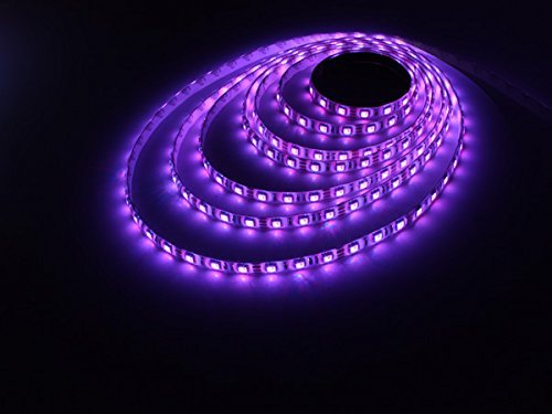 TaoTronics Led Light Strip, Dimmable Strip Lights Kits Colored Rope Lights 16.4Ft for Indoor and Outdoor Decoration (300 Leds, 44 Key, 60w Weatherproof)