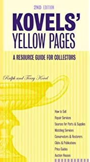 Kovels' Yellow Pages: A Directory of Names, Addresses, Telephone ...