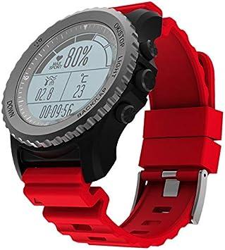 WQYRLJ Buceo Al Aire Libre Smartwatch IP68 A Prueba De Agua Reloj Elegante Reloj del Deporte De Bluetooth GPS De La Ayuda del Ritmo Cardíaco Monitor De Pulsera Multi-Sport