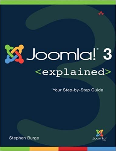 Book Joomla!? 3 Explained: Your Step-by-Step Guide (2nd Edition) (Joomla! Press) by Stephen Burge (2014-08-07)