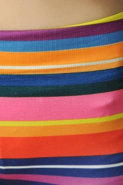 NEW Mesdames multi couleur Stripped pour femme FANCY DRESS Porter Casual Wear Club Porter Taille unique 10–12