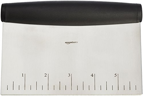 AmazonBasics-Multi-Purpose-Stainless-Steel-Bench-Scraper-Chopper