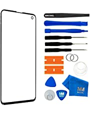 MMOBIEL Front Glass Repair kit Compatible with Samsung Galaxy S10 G973F/DS 6.1 inch (Black)