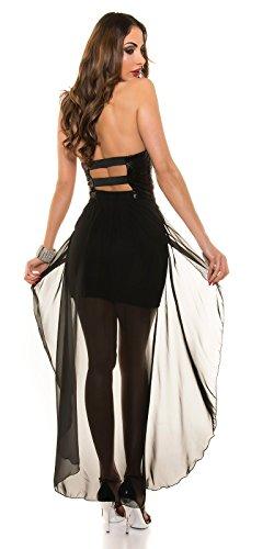 KouCla - Vestido - Sin tirantes - Básico - para mujer negro
