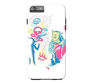 Animal Story iPhone 6 Plus White Tough Phone Case - Design By FSKcase?