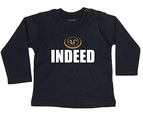 Indeed, Baby L/S T - Black 3-6 mths