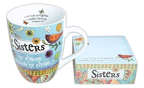 Divinity Boutique 23777 Ceramic Mug And Memo Pad Sister Multicolor Divinty Boutique