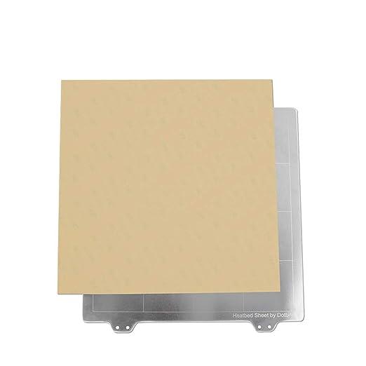 XuBa Impresora 3D Partes 220 x 220 mm Placa de Acero + imán + ...
