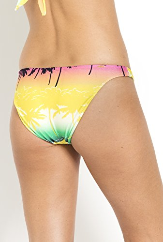 Multicolore Jaune Bikini Bande De Vert Bas ROwBESxqB