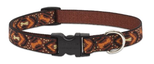 Lupine 3/4-Inch Down Under 9-14-Inch Adjustable Dog Collar for Small to Medium Dogs, My Pet Supplies