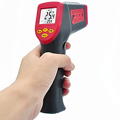 Valuetom Laser Non-Contact Digital Infrared Thermometer Gun Accurate Temperature for Car,Baby,Cooking, Food, BBQ, Grill