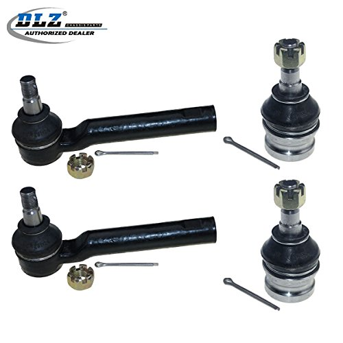 - DLZ 4 Pcs Front Suspension Kit-Lower Ball Joint Outer Tie Rod End Compatible with 2003-2006 Subaru Baja 1998-2015 Subaru Forester 1997-2014 Subaru Impreza 1993-1996 Subaru Impreza AWD
