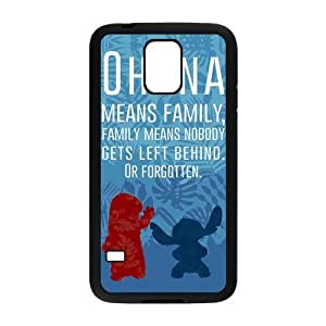 Custom Galaxy S5 Case, Lilo Stitch Snap On Cover Protector TPU For Samsung Galaxy S5 i9600