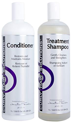 CURLY HAIR SOLUTIONS - Treatment Shampoo & Silk Conditioner (8 Ounce / 240 Milliliter)