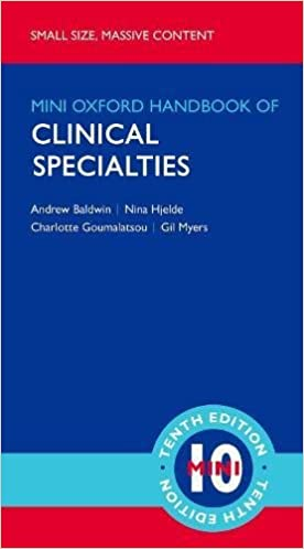 Kết quả hình ảnh cho Oxford Handbook of Clinical Specialities 10e amazon