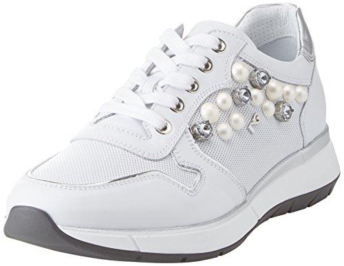 EU Giardini 37 Skipper Nero Donna Bianco Sneaker dqxfSZYXw