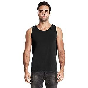 Next Level Adult Inspired Dye Tank Top - Black - S - (Style # 7433 - Original Label)