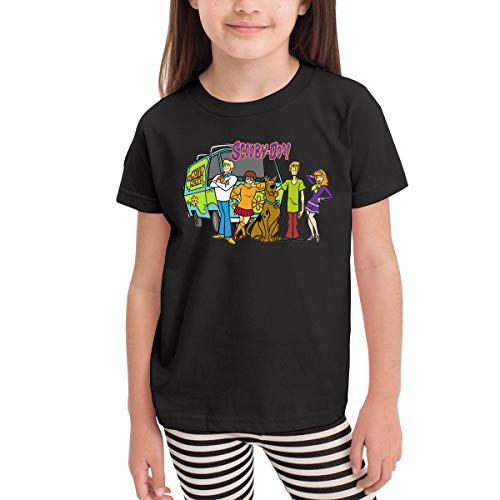Scooby Doo Shirts For Toddlers (Scooby Doo Family Toddler Kids Unisex Short Sleeve Fancy Crew Neck T-Shirt Top Tee Size)