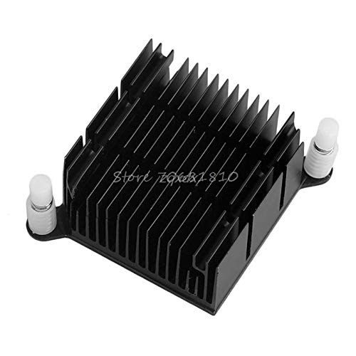 Aluminum 40 40 20mm 59mm Pitch Hole Diagonal Motherboard Chip Heat Sink