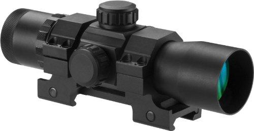 BARSKA AC12144 Tactical Long Red Dot Optics, 1x 30mm, Matte Black