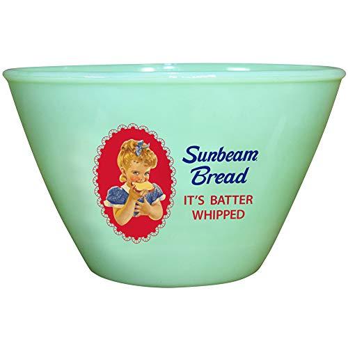 (Sunbeam Jadeite Batter Bowl - Depression-Style 7.5