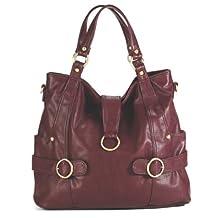 timi & leslie Hannah Diaper Bag, Burgundy