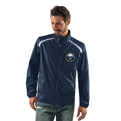 G-III Sports by Carl Banks Adult Men Storm Full Zip Packable Jacket, Navy, X-Large ()