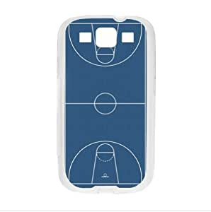 Best Custom Case - Basketball Court Samsung Galaxy S3 I9300 TPU (Laser Technology) Case, Cell Phone Cover
