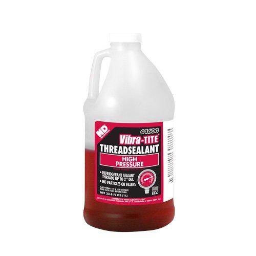 Vibra-TITE 446 High Pressure Refridgerant Anaerobic Thread Sealant, 1 liter Jug, Red by Vibra-TITE